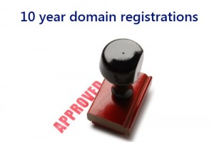 10 year .UK domain registrations approved